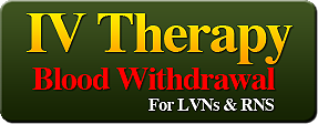 IV Blood Therapy and Withdrawal Certification
