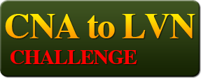 CNA to LVN Challenge